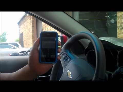 How To Sync Your Phone With Your 2011 Chevy Cruze