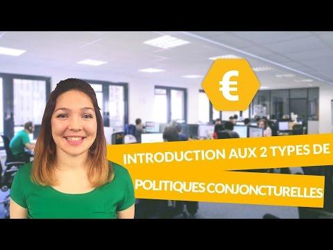 Introduction aux 2 types de politiques conjoncturelles - Economie - Première ES - digiSchool