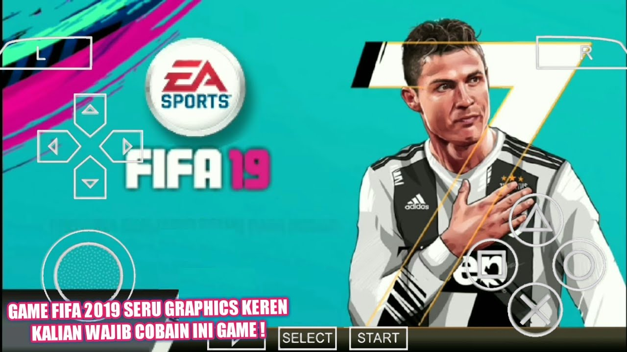 FIFA 19 MOD PES 2019 CAMERA PS4 PPSSPP ANDROID DOWNLOAD CRISTIANO