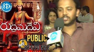 Rudhramadevi Telugu Movie || Public Response || Anushka || Allu Arjun || Rana