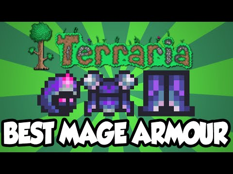 Terraria 1 3 The Nebula Mage Armour The Best Mage