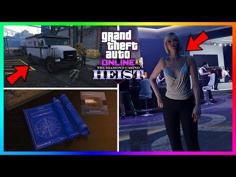 GTA 5 Online The Diamond Casino Heist DLC Update - NEW INFO! Lucky Wheel Cars, Festive 2019 & MORE!