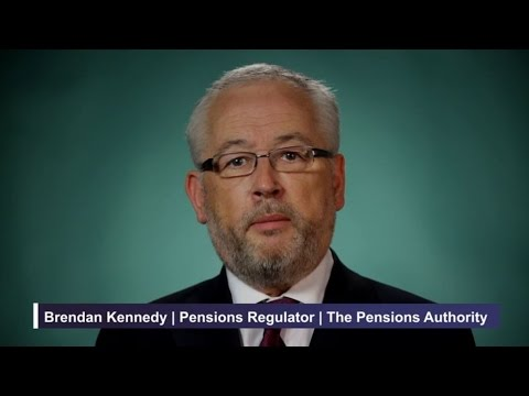 Brendan Kennedy, Pensions Regulator, the Pensions Authority