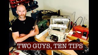 Two Guys, Ten Tips: To Help You Sew Like A Pro! (Collaboration with Alexander Dyer) thumbnail