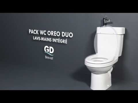 Godart Pack Wc Avec Lave Mains Oreo Duo