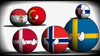 COUNTRYBALLS | Альтернативное прошлое мира с 1444 года | 1 сезон 5 серия | Кальмарская война