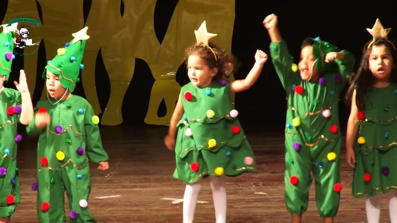 "Velada Navideña 2013 Pre Kinder I ""Rocking Around the Christmas tree"" - YouTube"