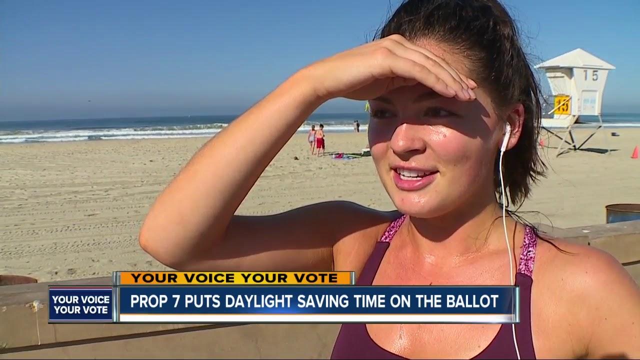 Prop 7 puts Daylight Saving on California Ballot