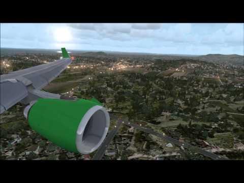 PMDG 737NGX - Boeing field Drop off challenge - MD11 FSX