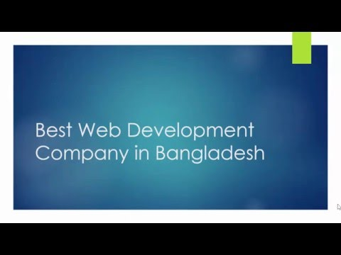 Best Web Development Company in Bangladesh