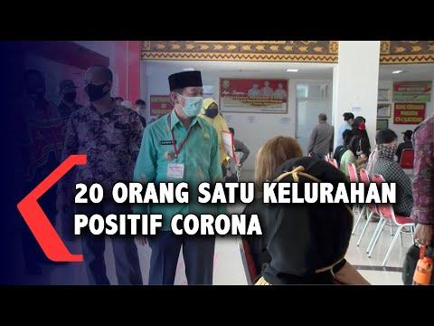 20 Orang Positif Corona di Satu Kelurahan di Bandar Lampung