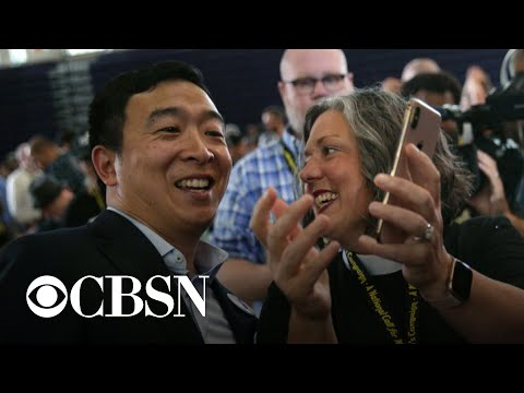 Andrew Yang opens two campaign offices in Iowa