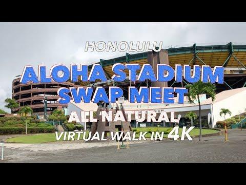 Aloha Stadium Swap Meet 4/4/2018 [4K] Hawaii