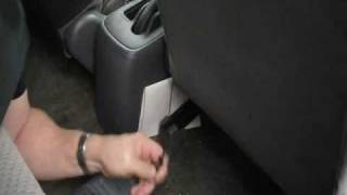 Car Seat Cover Installation: Front Seats - Part 1
