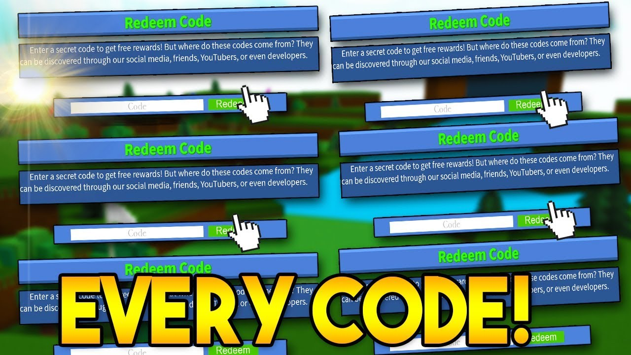 EVERY SINGLE *WORKING* CODE! | Build a boat For Treasure ROBLOX