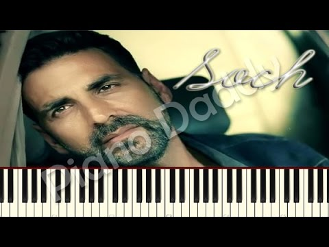 Soch Na Sake (Airlift) Piano Tutorial ~ Piano Daddy