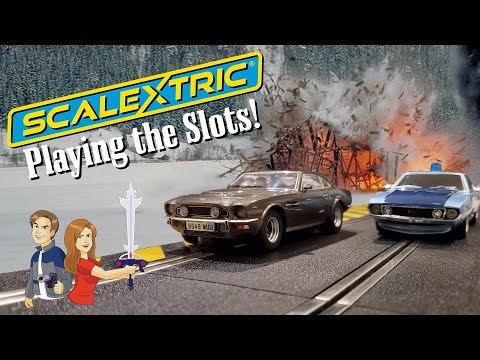 Scalextric: Playing the Slots! Slot Car Racing 007 Style!