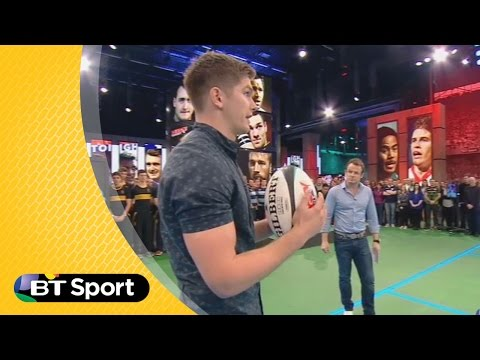Pitch demo: Owen Farrell kicking masterclass | Rugby Tonight