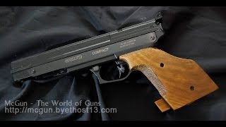 Olympic 2014? 10M Air Pistol for Everyone - GAMO Compact .177 Cal Target Pistol Review and Shooting