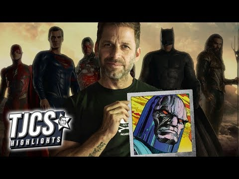 Zack Snyder Reveals Darkseid Image From Justice League