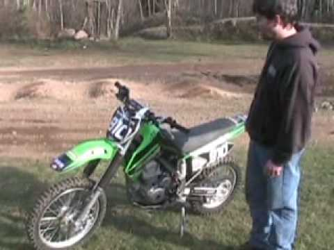 Review of Kawasaki KLX140 with Duane Brown (BBR)