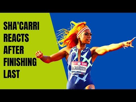 Sha'Carri Richardson Finishes Last in 100-Meter Return