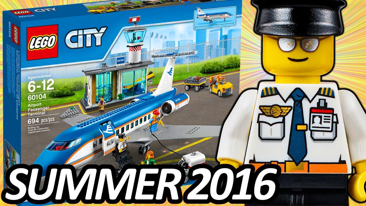 LEGO CITY Airport Passenger Terminal (60104) 2016 Summer ...