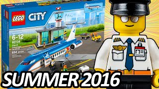 LEGO CITY Airport Passenger Terminal (60104) 2016 Summer Set ALL Official Pictures - レゴ シティ