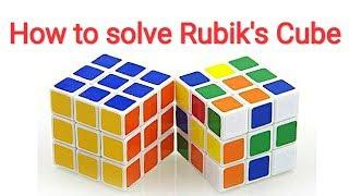 Як вирішити швидкість кубик Рубика | Кубик Рубіка вирішити | як вирішити кубик 3×3 Рубіка