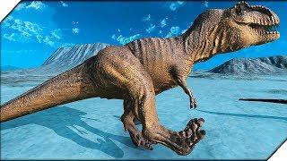 ДИНОЗАВР РЕКС - Игра Beast Battle Simulator # 6 Битва динозавров. Мир юрского периода.