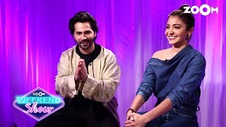 Sui Dhaaga | Varun Dhawan, Anushka Sharma | Interview & FUN Game | Zoom Weekend Show