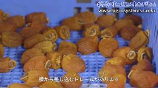 감건조기-곶감, 대차식, 채반식, 건조기