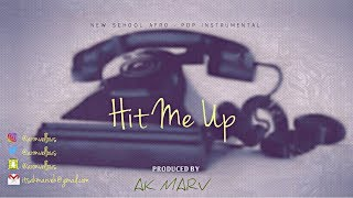 "Ycee X Maleek Berry Type Beat - ""hit Me Up"" Instrumental  Prod. By Ak"