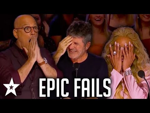 Simon Cowell's EPIC FAILS on AGT & BGT | Got Talent Global