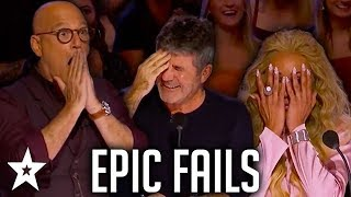 Download Simon Cowell's EPIC FAILS on AGT & BGT | Got Talent Global Mp3 and Videos