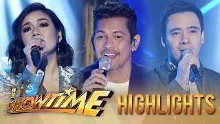 Kyla, Erik Santos, Karylle and Gary V serenade madlang people (Part 1) | It's Showtime
