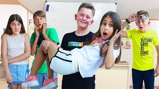 قام الشقيق التوأم الوقح لصديق إيفا بمواجهة في المدرسة!