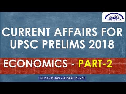 TAMIL-IMPORTANT CURRENT AFFAIRS FOR UPSC PRELIMS 2018-ECONOMICS PART-2
