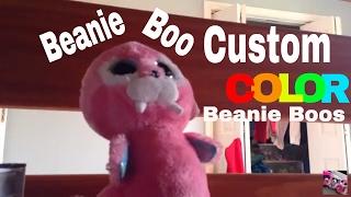 Beanie Boo Custom: Color Beanie Boos