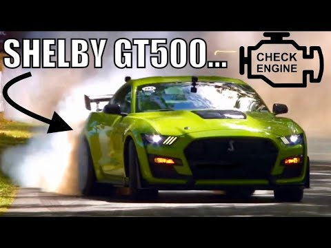 Curious Case of CEL LIGHT in Ford Promo Videos of 2020 SHELBY GT500...