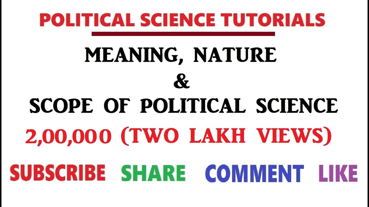 scope of science