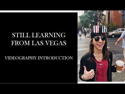 Still Learning From Las Vegas Videography