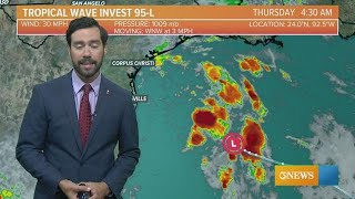 Eye on the Gulf - Sept. 13 - 7:30 a.m.