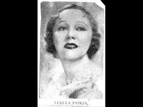 Luella Paikin sing Saper vorreste, Pagen arie from Un ballo in maschera 1925