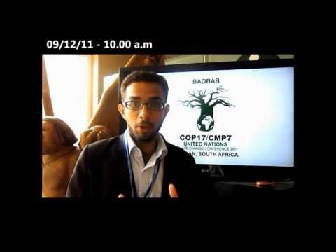My Journey to United Nations Climate Change Conference 2011 by Sikander Sabeer (Sri Lanka)
