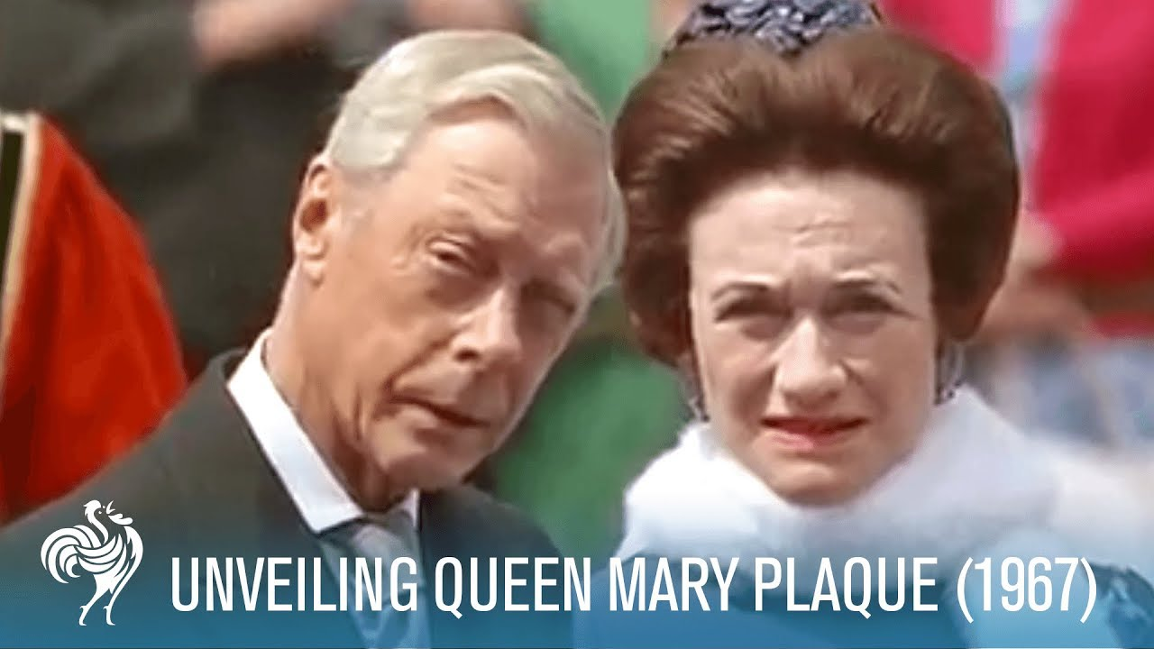 The Royal Family At The Queen Mary Plaque Unveiling In London 1967 British Pathé