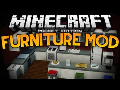 Minecraft Pe Furniture new furniture in mcpe!!! - minecraft pe furniture mod - minecraft
