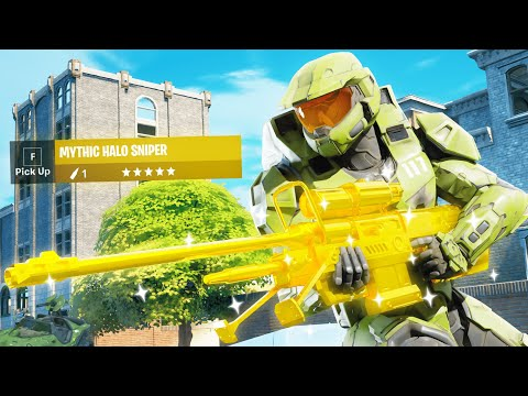 *NEW* MYTHIC MASTER CHIEF IN FORTNITE!!
