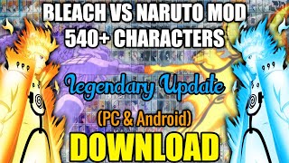 Bleach Vs Naruto MOD 540+ CHARACTERS (PC) [DOWNLOAD]