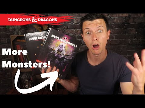 Monsters Upon Monsters! Monster Manual Expended Iu0026II